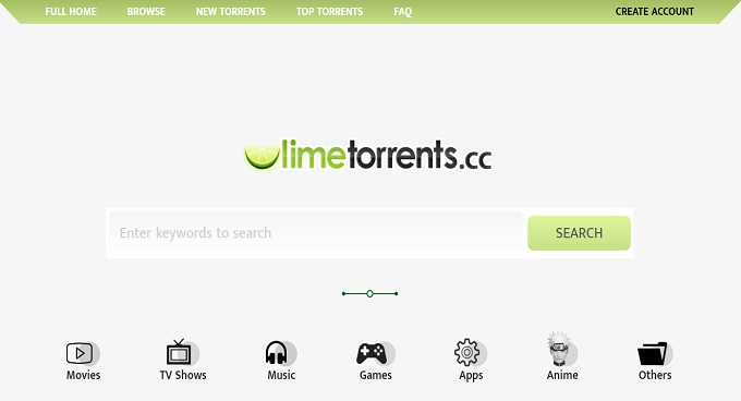 Limetorrents - Torrent Sites