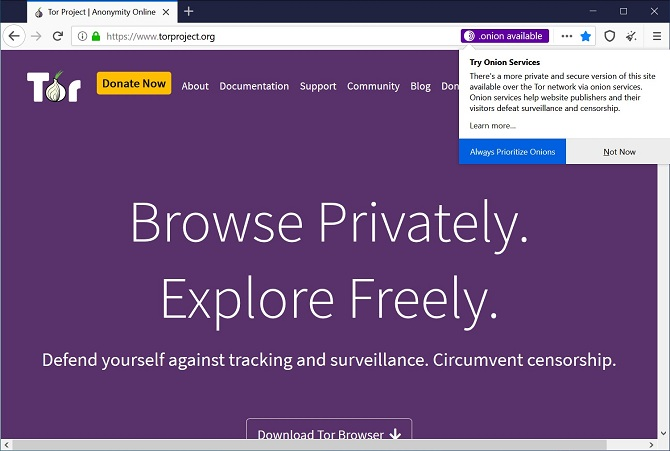Access Extra Torrent via Tor Browser