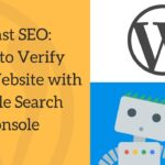 "Connect your WordPress plugin ""Yoast SEO"" with Google Search Console"